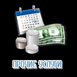 Прочие кредитные услуги